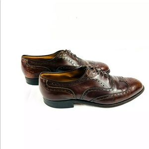 Johnson and Murphy wingtip Oxford dress shoes